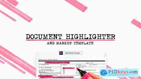 Videohive Document Highlighter Free