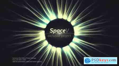 Videohive The SpaceV Titles Free