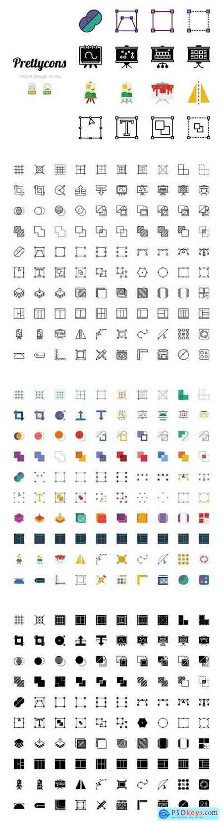 Prettycons - 400 Design Icons Vol.1