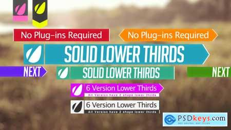Videohive Lower Thirds Free