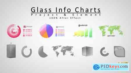 Videohive Glass Info Charts Free