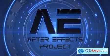Videohive Hi-Tech Futuristic Logo Free