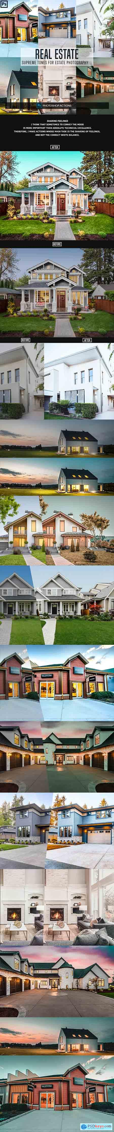 Graphicriver Real Estate Photoshop Actions