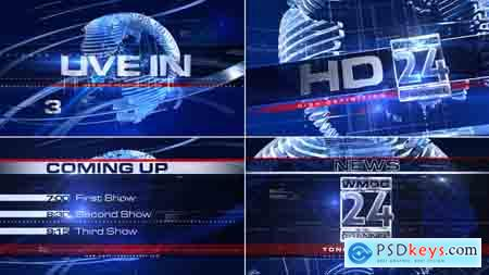 Videohive Broadcast Design - Complete News Package 1 Free