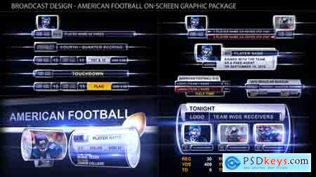 VideoHive Broadcast Design - Sport on-screen graphic package Free