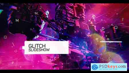 VideoHive Glitch Slideshow Free