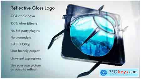 VideoHive Reflective Gloss Logo Free