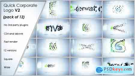 VideoHive Quick Corporate Logo V2 Free