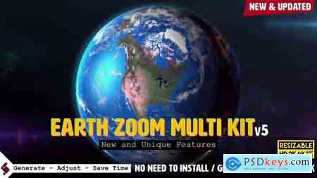 Videohive Earth Zoom Multi Kit V5 Free