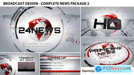 Videohive Broadcast Design - Complete News Package 2 Free