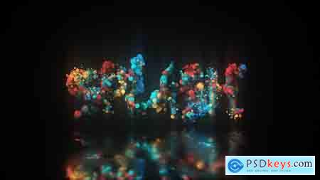 VideoHive Glow Particle Logo Free