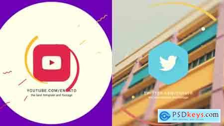 Videohive Flat Logo Reveals Free