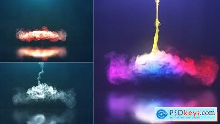 Videohive Spiral Smoke Reveal Free