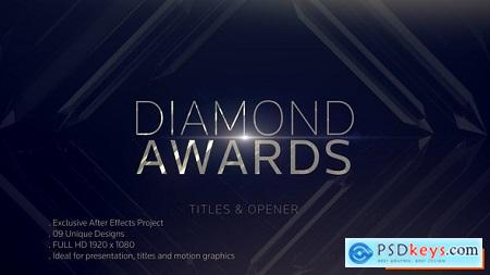 Videohive Diamond Awards Opener Free