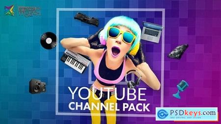 Videohive YouTube Channel Pack Free