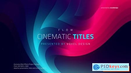 Videohive FLOW - Cinematic Titles Free