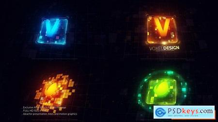 Videohive Techno Block Logo Free