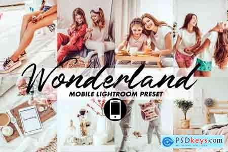 Creativemarket Mobile Lightroom Preset Wonderland