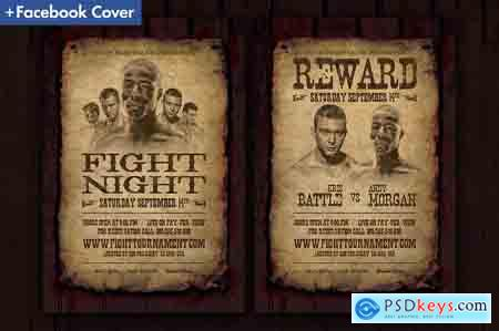 Creativemarket Wanted Flyer Template 3470583