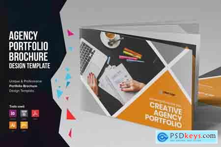 Creativemarket Digital Agency Portfolio Brochure v2