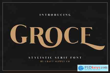 Creativemarket Groce - Stylistic Serif Font