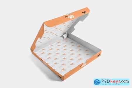 Creativemarket 5 Pizza Box Mockups