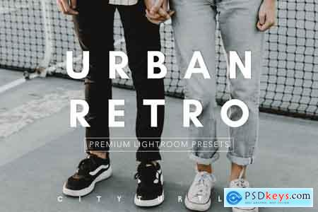 Creativemarket URBAN RETRO Moody Editorial Presets