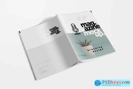 Creativemarket US Letter Size Magazine Mockups