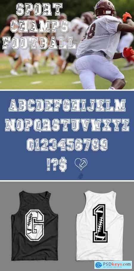 Sport Champs Football Font