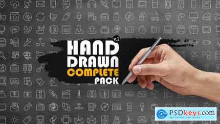 Videohive Hand Drawn Complete Pack Free