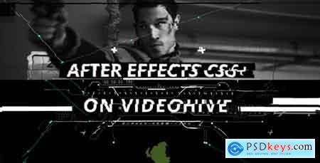 Videohive Glitch Opener Free