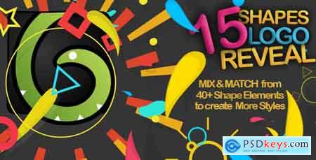 Videohive Shapes Logo Reveal Pack Free