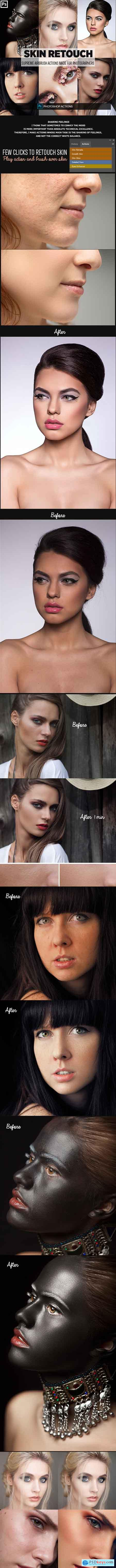 Graphicriver Easy Skin Retouch Photoshop Actions