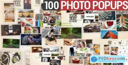 Videohive 100 Photo Popups Free
