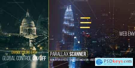 Videohive Parallax Scanner Free
