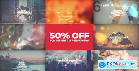 VideoHive Grunge Particles Reel Free