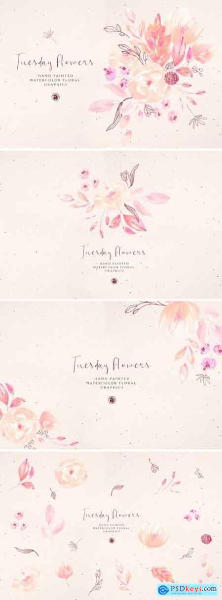 Creativemarket Tuesday Flowers
