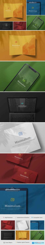 Creativemarket Minimalistic Branding Mockups