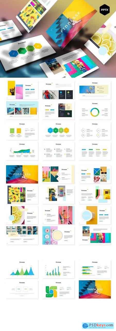 Finnesse - Powerpoint, Keynote, Google Sliders Templates