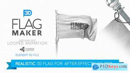 VideoHive Flag Maker Free