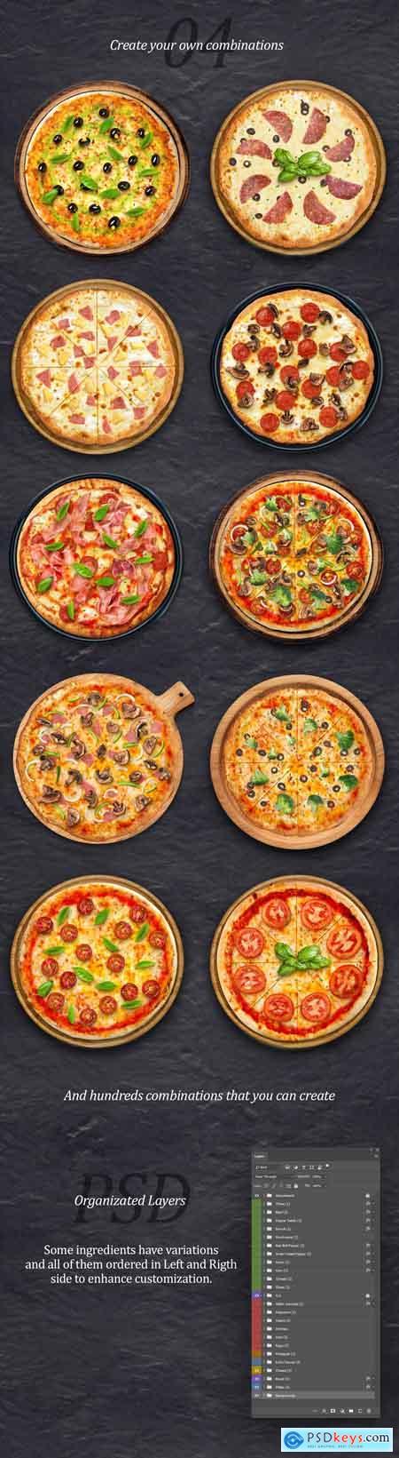 Creativemarket Pizza Creator & Scene Generator