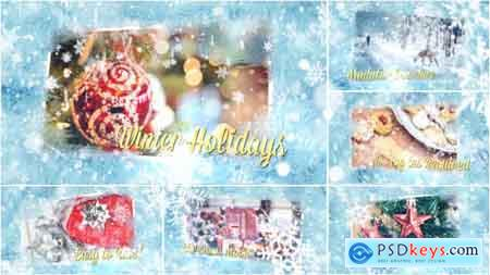 Videohive Winter Holidays Slideshow Free