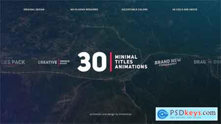 Videohive Corporate Titles Free