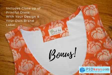 Bodycon Dress Mockup