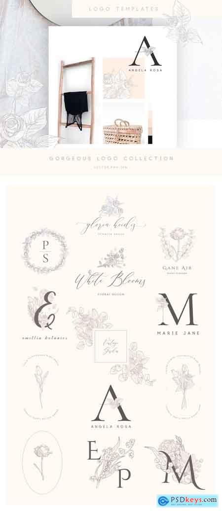 Creativemarket Floral Graphics, Logos, Patterns