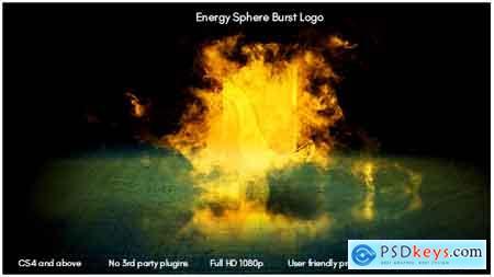 Videohive Energy Sphere Burst Logo Free
