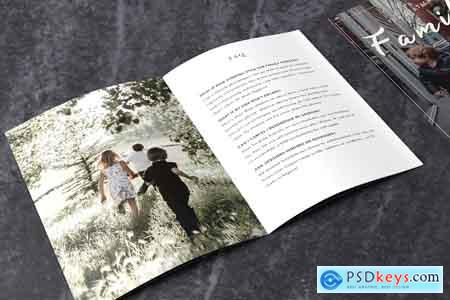 CreativeMarket Family Photographer Style Guide PSD