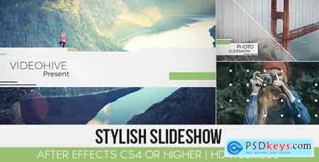 Videohive Stylish Slideshow Free