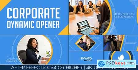 Videohive Corporate Dynamic Opener Free