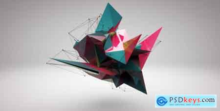 Videohive 3D Abstract Logo Reveal Free